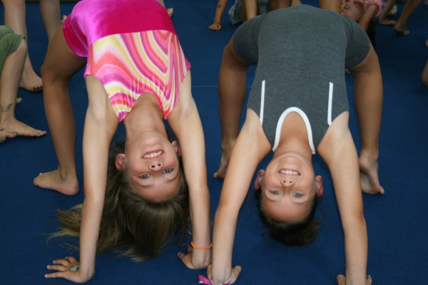 Scripps Ranch Gymnastics Tumbling Class Bridge